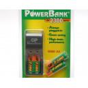 ŁADOWARKA MiniAA, PowerBank 2x2300, GP