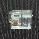 Wtyk tel. 6p4c RJ11 /SZT/