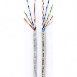 Kat.5e Kabel UTP 4x2 LI A-LAN/1M